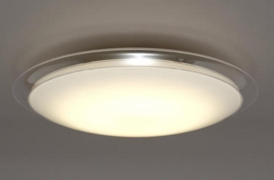 LED照明「音声操作シーリングライト」「クリアフレーム」