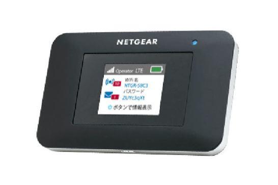 4G LTE対応モバイルルーター「AC797」- ネットギア