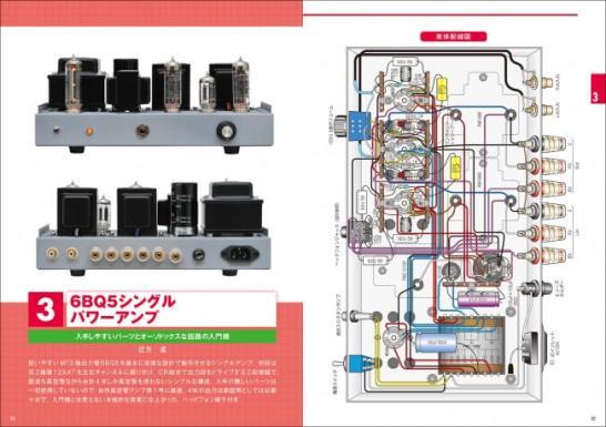 自作で楽しむ Hi-Fiオーディオ カラー実体配線図で作る真空管アンプ2 - 誠文堂新光社
