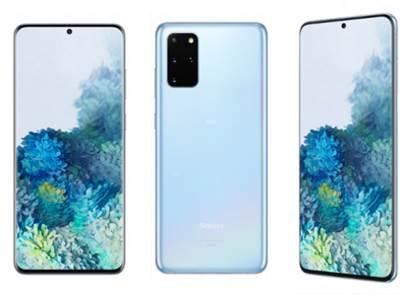 Galaxy S20+ 5G - クラウド ブルー