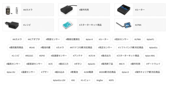 IoTデバイス通販サイト「SORACOM IoT ストア」がリニューアル