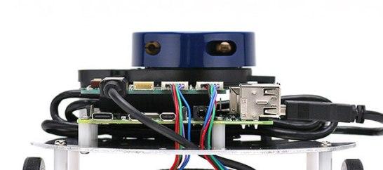 小型のLiDAR(LRF)を標準搭載