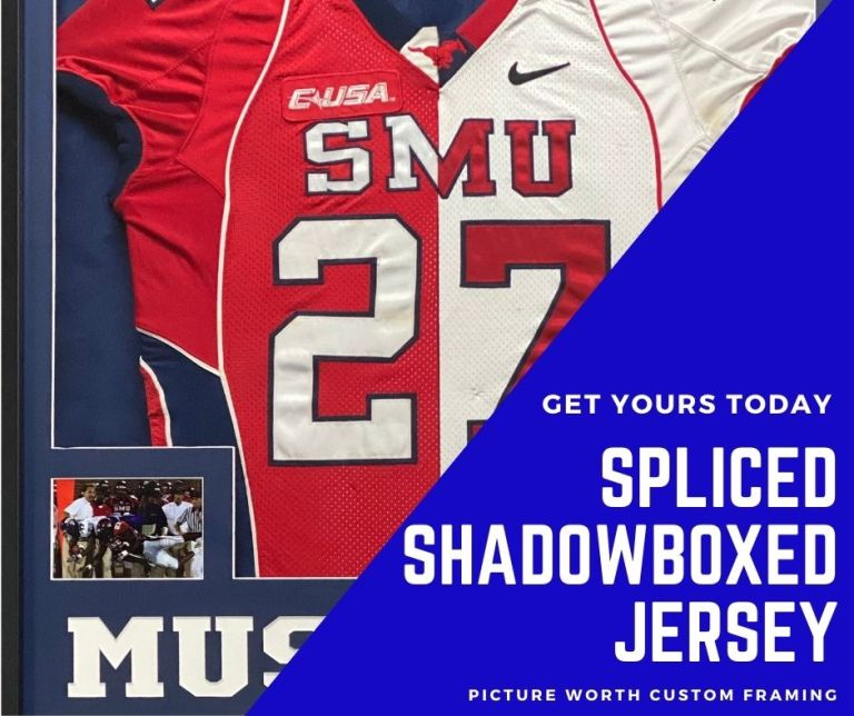 Spliced Shadowboxed Jersey