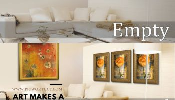 Picture Worth Custom Framing Art Makes a Huge Difference