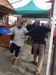 Sometimes you just can't help dancing. Photo: Kim Elliott