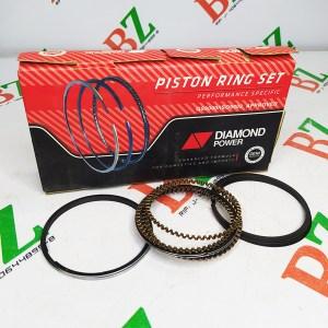 Juego de anillos Chevrolet modelo Aveo motor 1.6 marca Damond power Cod E544 medida 0.75