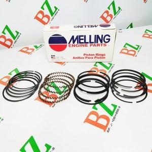 Juego de anillos Chevrolet modelo Century motor 2.8 marca Melling medida 1.50 Cod m2m 4456
