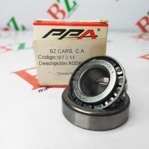 Rodamiento marca PPA Cod set 2 13