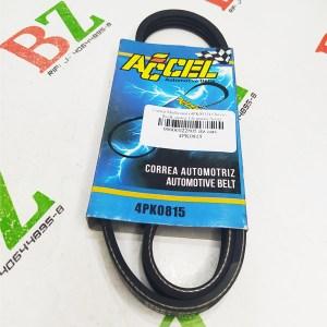 4PK0815 Correa Multicanal 4PK0815 Chevrolet Swift motor 1.6 marca Accel