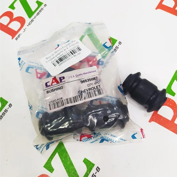 96535087 Buje de Meseta Pequeno Por Unidad paquete de 4 Chevrolet Aveo motor 1.6 marca Cap 1