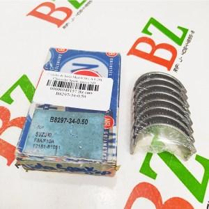 B8297 34 0.50 Concha de biela Med 0.50 A 0.20 Chevrolet Spark marca NB
