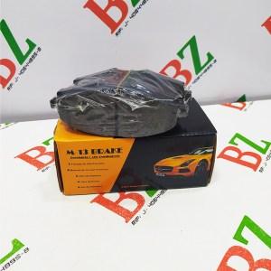 D1454 8653 Pastillas Frenos Delanteras Ford Ecosport Fiesta Titanium ano 2014 2016 marca BAP