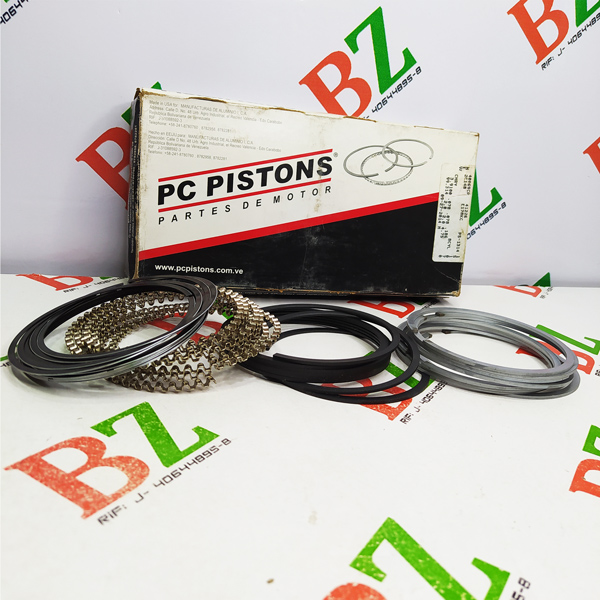 PCP 40069 0.20 Juego de anillos 0.50 A 0.20 Dodge motor 318 5.2 marca PC Pistons