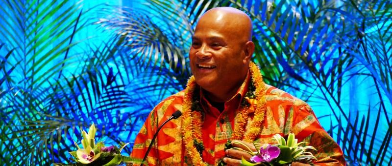 Federated States of Micronesia President David W. Panuelo