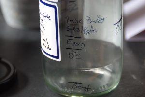 Skalierung Dressingflasche