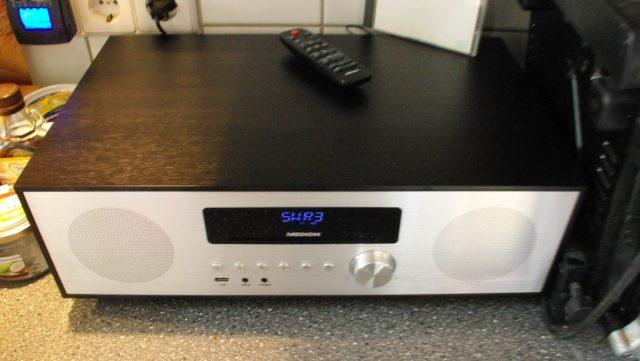 Musik in der Küche dank  All-in-One Audio System LIFE® X64400 von MEDION® #FreundinTrendlounge #Medion