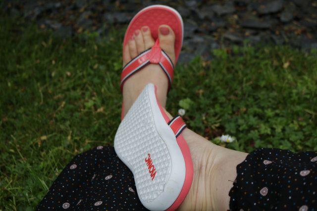 Darf ich vorstellen – Sommer ist in meinen Schuhschrank eingezogen #vionic #zehentreter