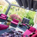 Neues Dach für den Pavillon unserer Lounge #suchehateinende #dachneubezogen
