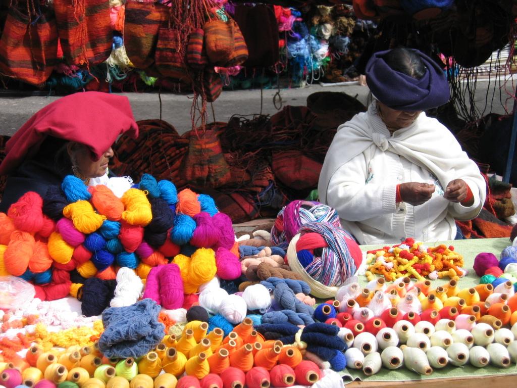 Ecuador - Otavalo market