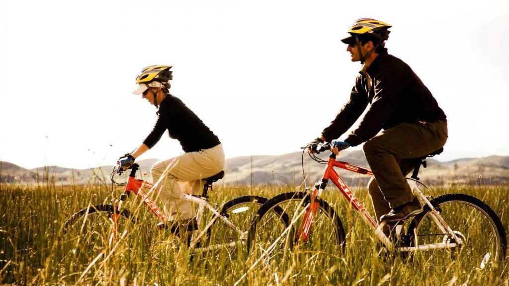 Biking Experience at the Titilaka Lodge
