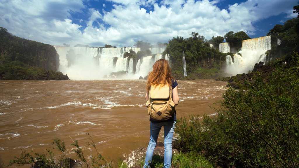 Iguana Falls in Argentina