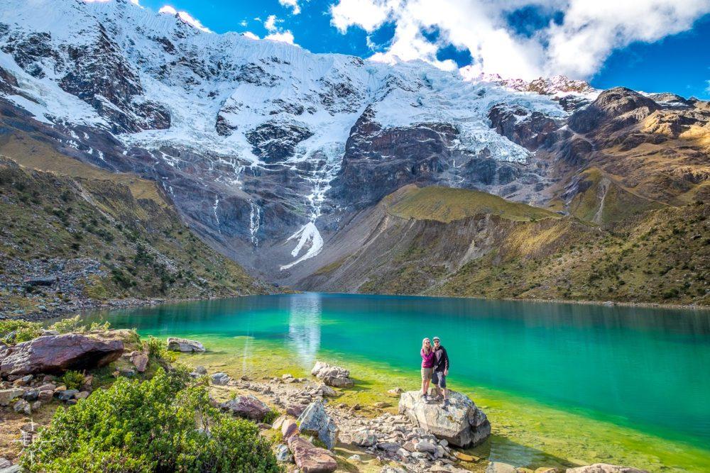 Humantay Lake during Salkantay Trekking