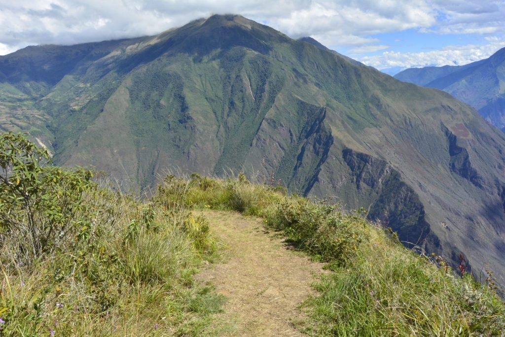 Trail to Choquequirao trail