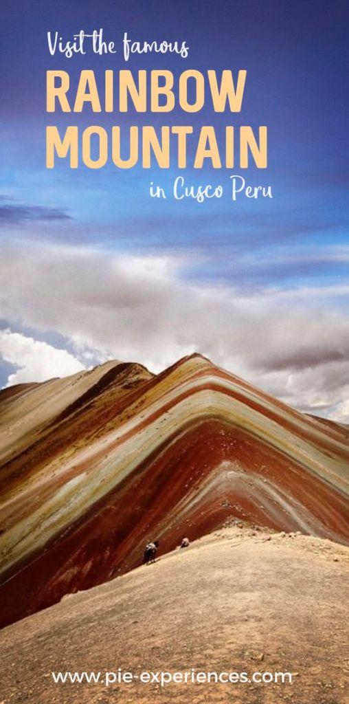 Visit Rainbow Mountain - Pinterest image