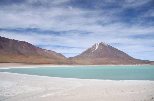 Uyuni salt flats- Laguna Verde