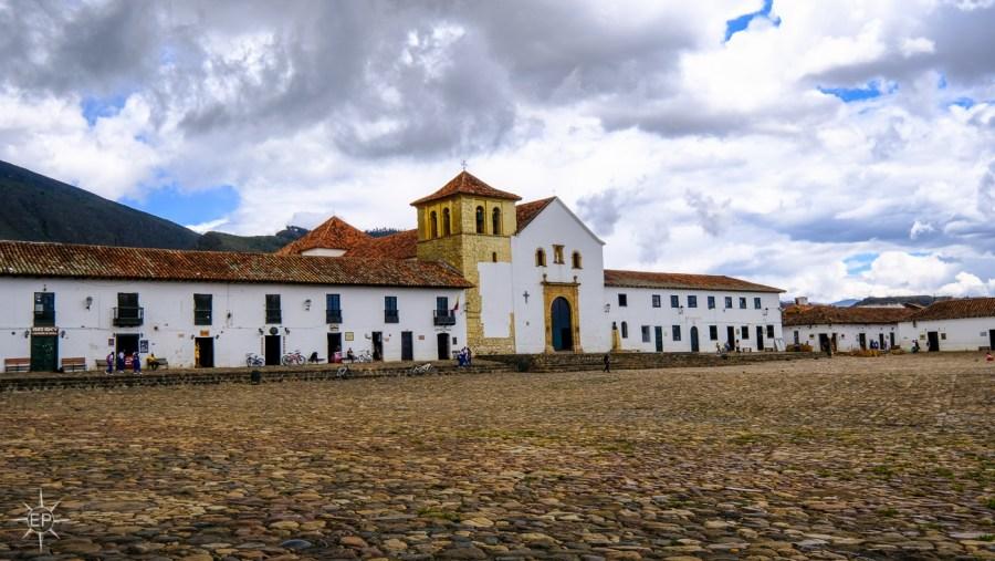 Colombia travel guide - Villa de Leyva main squre