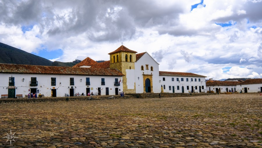 Colombia travel guide - Villa de Leyva main squre