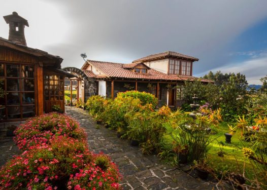 Hotel Hacienda La Andaluza - Riobamba
