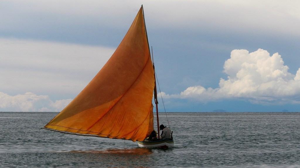 llachon on Lake Titicaca