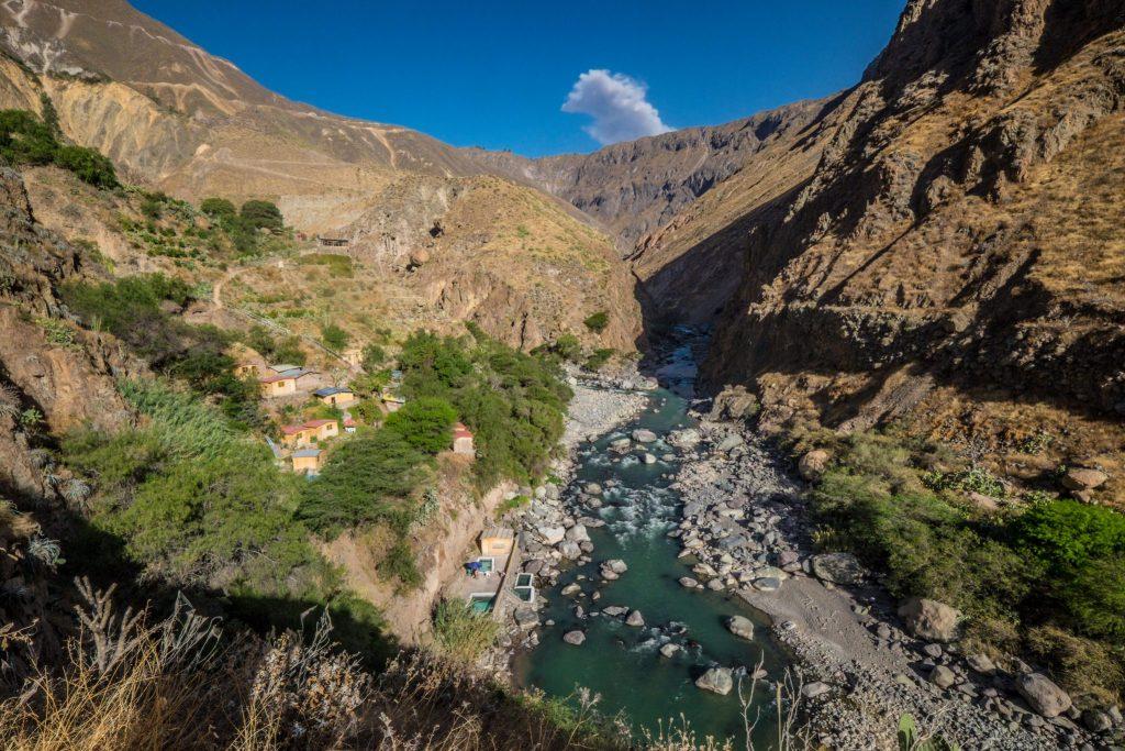 Colca Canyon trek - Llahuar Lodge.