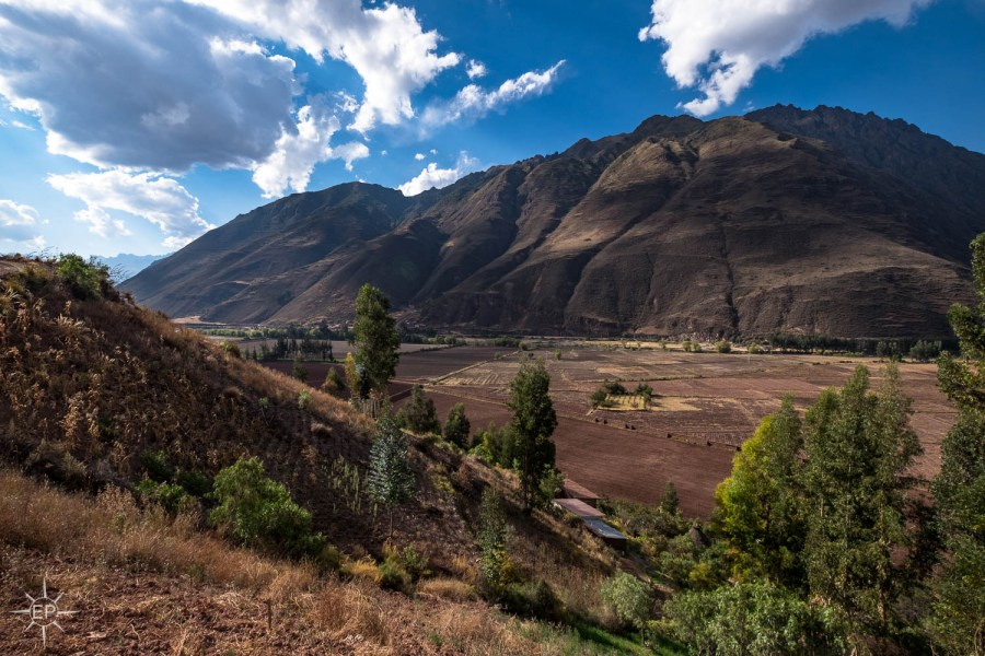 Things to do in Sacred Valley - Mountains and farming paddocks.