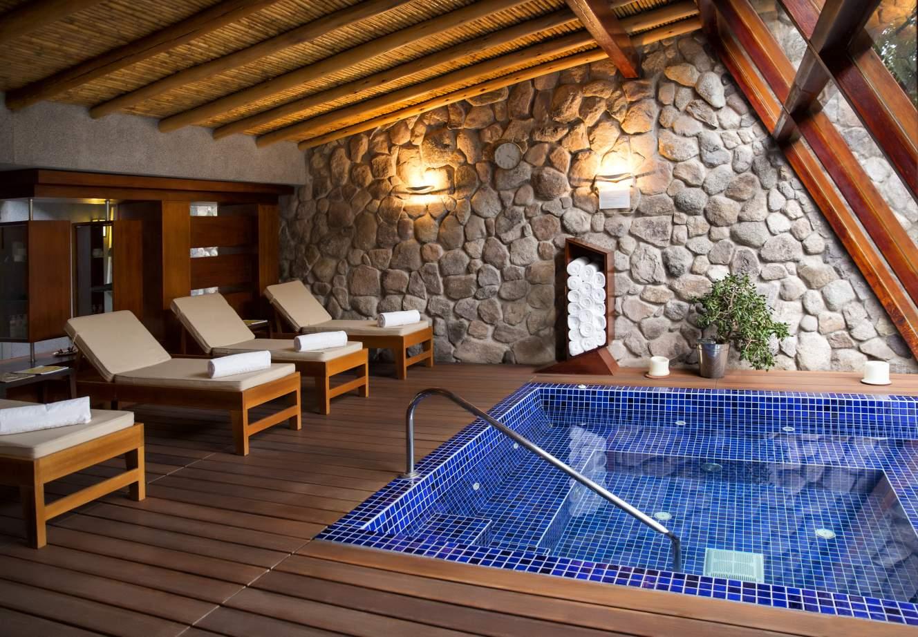 Things to do in Sacred Valley - Belmond Rio Sagrado pool.
