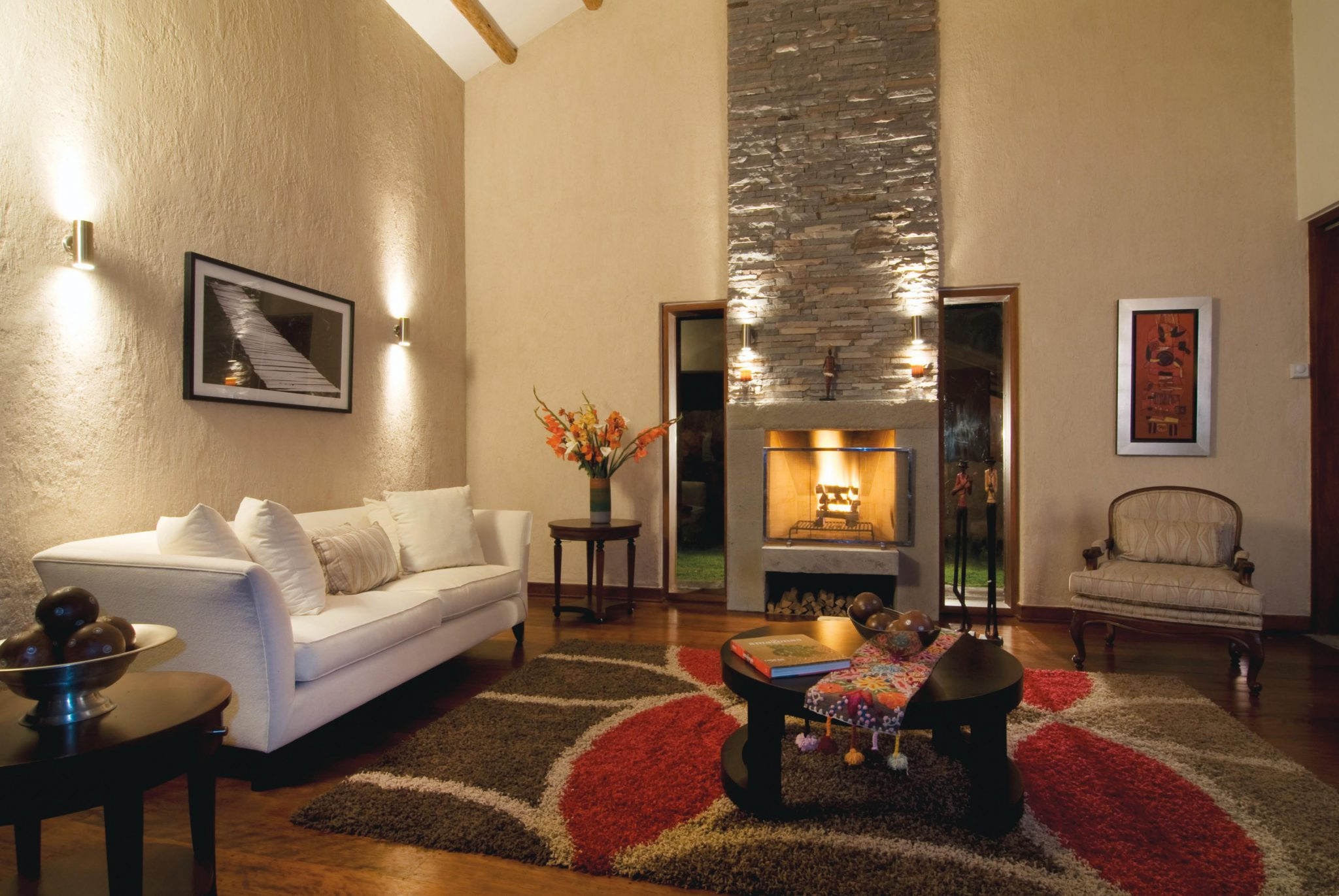 Things to do in Sacred Valley - Belmond Rio Sagrado cosy room.