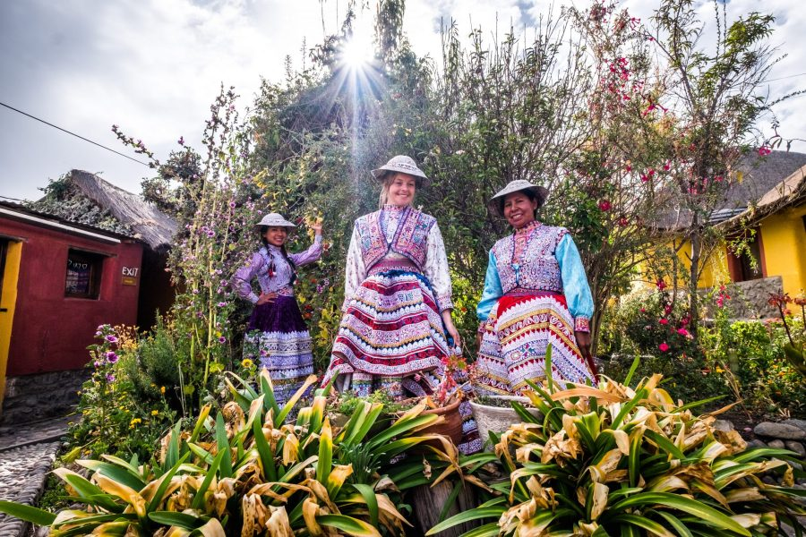 Homestay tours in Colca Canyon - Traditional dress in Yanque.