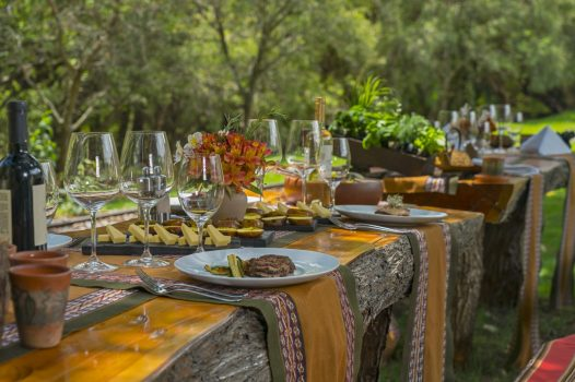Luxury hotels in Sacred Valley - Farm to table at Tambo del Inka.