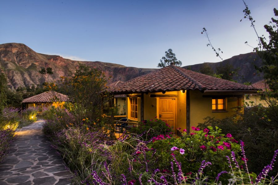 Luxury hotels in Sacred Valley - Sol y Luna casita.