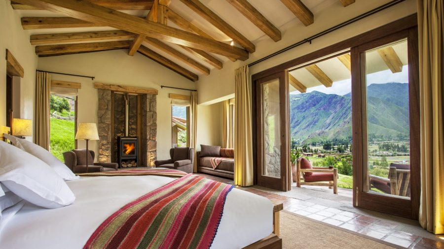 Luxury hotels in Sacred Valley - Suite at Inkaterra Hacienda.