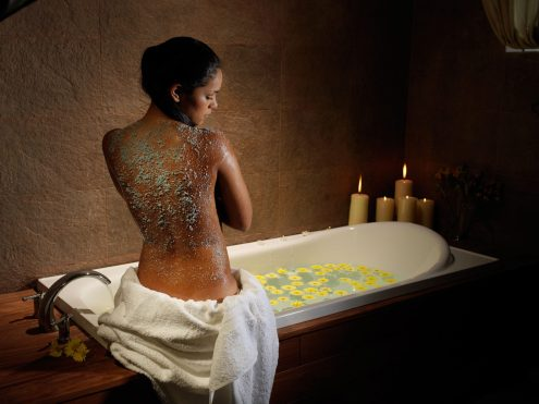 Luxury hotels in Sacred Valley - Spa treatment at Aranwa hotel.