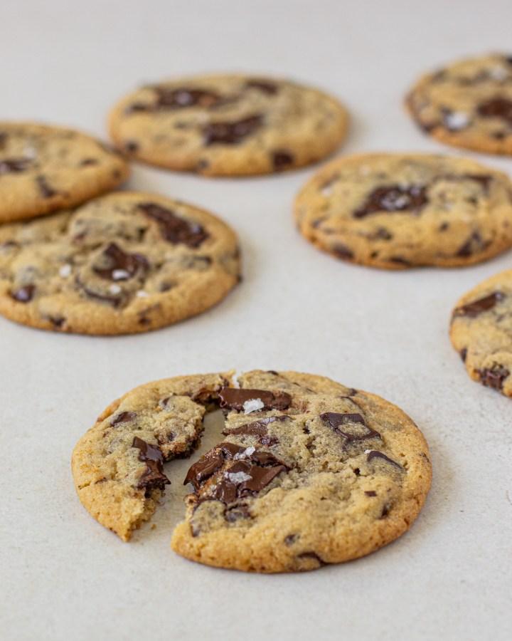 עוגיות שוקולד צ'יפס וטחינה
