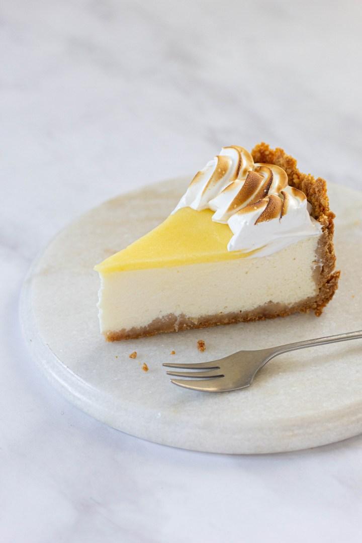 עוגת גבינה- פאי לימון
