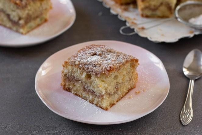 עוגת תפוחים עם שטוריזל קינמון