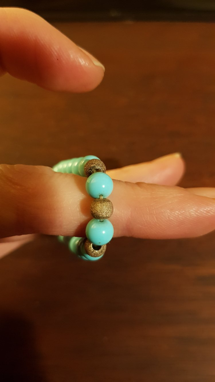 turquoise from side