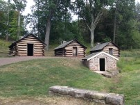 REAL AF Valley Forge log cabins!!