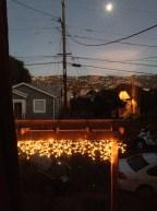 Winter Solstice Moon rise same pole