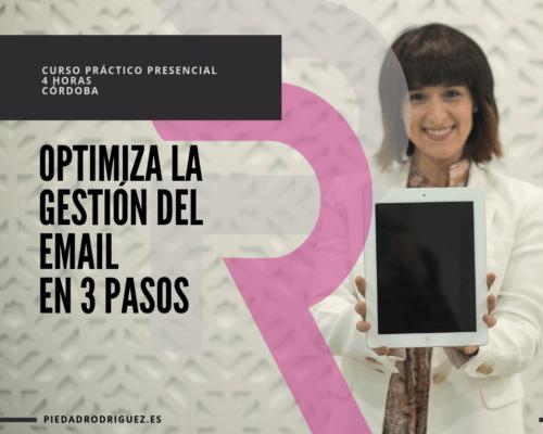 CURSO PRACTICO OPTIMIZA EL EMAIL EN 3 PASOS