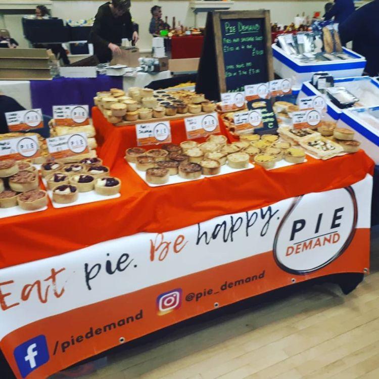 Pie demand Carlisle
